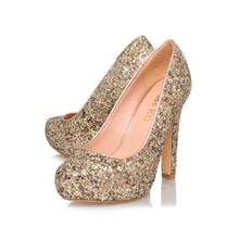 Annie high heeled court shoes
