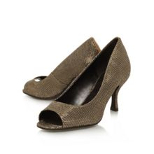 Quinty peep-toe heel shoes