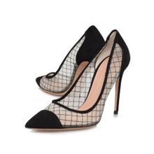 Sharkie high heeled courts shoes