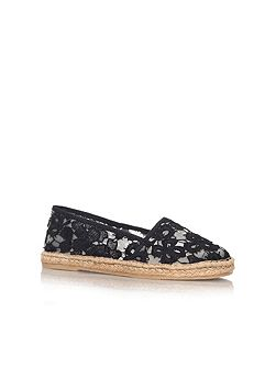 Blonda flat espadrille slip on shoes
