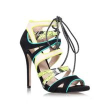 Ghecko high heel lace up sandals