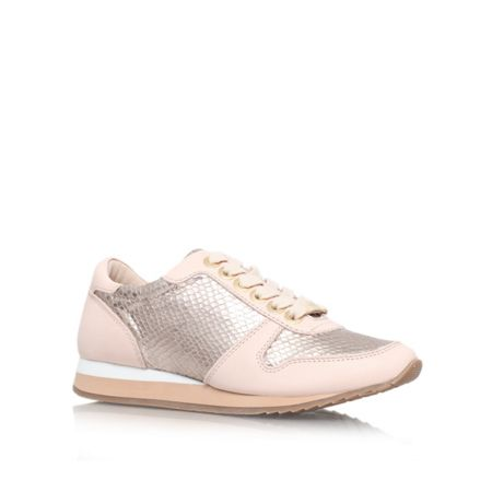 Carvela Libby flat lace up trainers