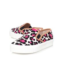 Lux flat slip on trainers