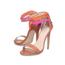 Gaze combination high heeled sandals