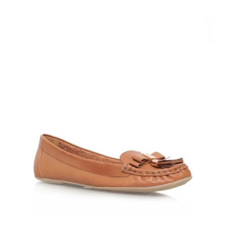 Carvela Leaf flat slip on loafers