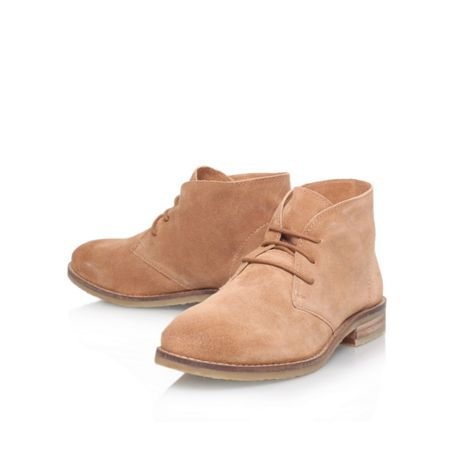 Miss KG Sandy flat lace up ankle boots