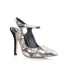 Ariel combination high heeled court shoes