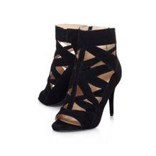 Delfina cut out detail court shoes