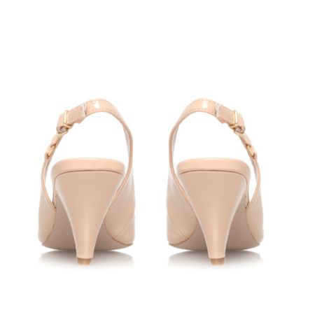 Carvela Kendall mid heel sling back shoes