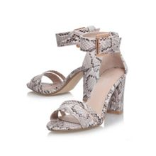 Carly combination high heel sandals