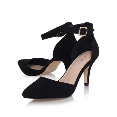 Carvela Kandice ankle strap court shoes