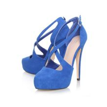 Kimchee ankle strap court shoes