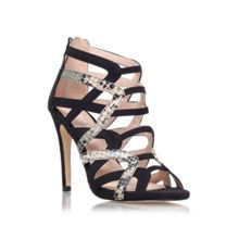 Cassie high heel lace up strappy sandals