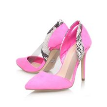Juliet combination high heel court shoes