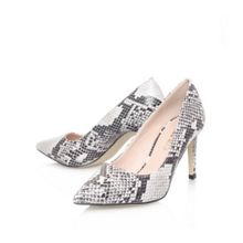 Agatha combination high heel court shoes