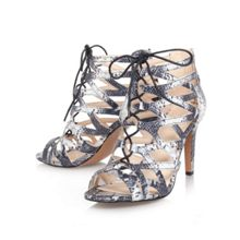 Authority3 combination strappy shoes