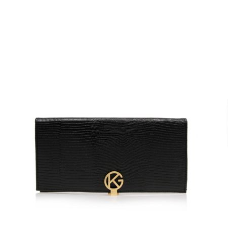 Kurt Geiger London Leather logo purse