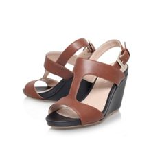 Sammy high heel wedge sandals