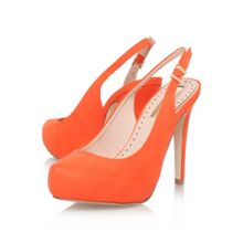 Anita high heel slingback shoes