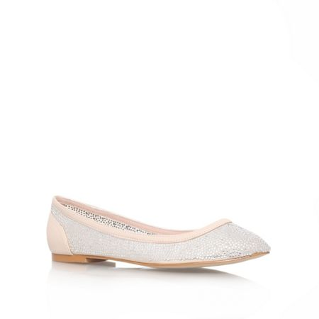 Carvela Lucinda flat slip on ballerina pumps