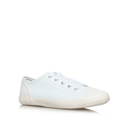 Miss KG Leni flat lace up trainers