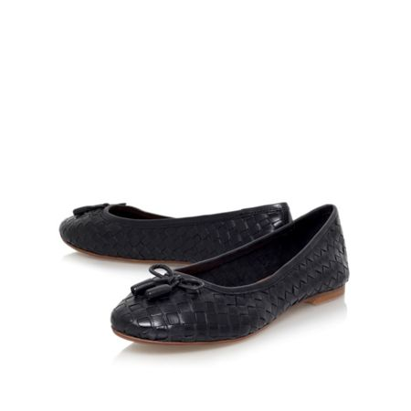 Carvela Luggage flat slip on ballerina pumps