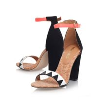 Faye combination high heel sandals