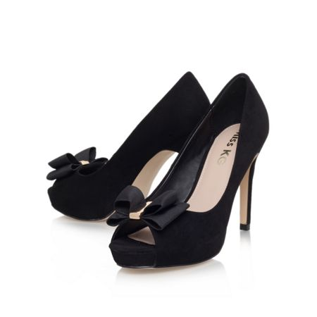 Miss KG Carolina high heel peep toe court shoes