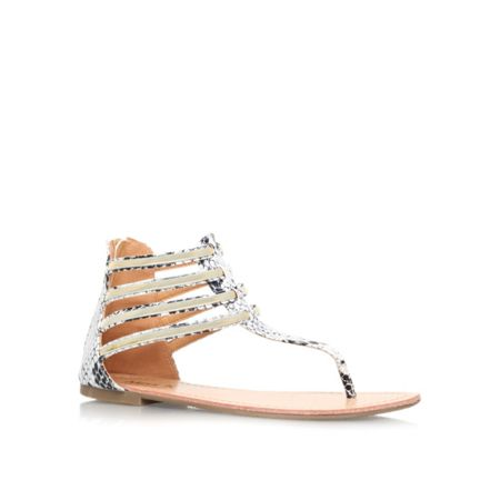 Miss KG Dixie flat strappy sandals