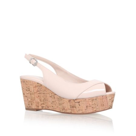Carvela Klixy mid wedge sandals