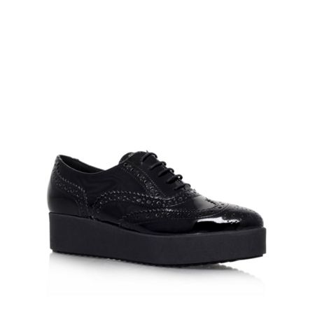 Carvela Leslie lace up trainers