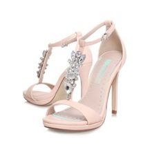 Elsa high heel embellished sandals