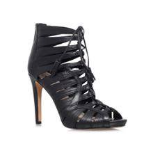 Narrital high heel lace up shoe boots