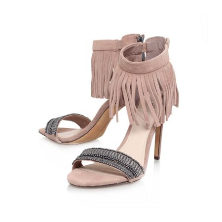 Vince Camuto Trumen fringe detail high heeled sandals