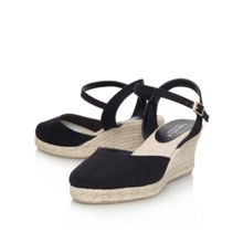 Carvela Sabrina mid wedge heel court shoes