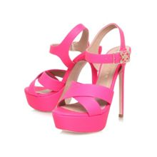 Blossom high heel platform sandals
