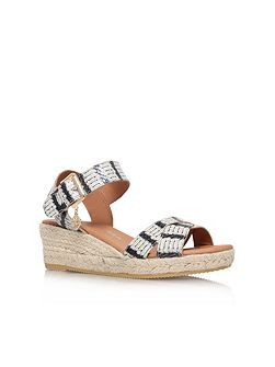 Libby low wedge heel sandals