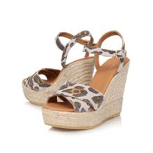 Kurt Geiger Amerie high wedge heel sandals