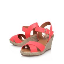 Pineapple mid wedge heel sandals