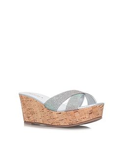 Kable mid wedge sandals