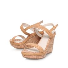 Kay high wedged sandals