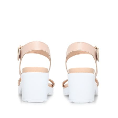 Carvela Karina mid block heel sandals