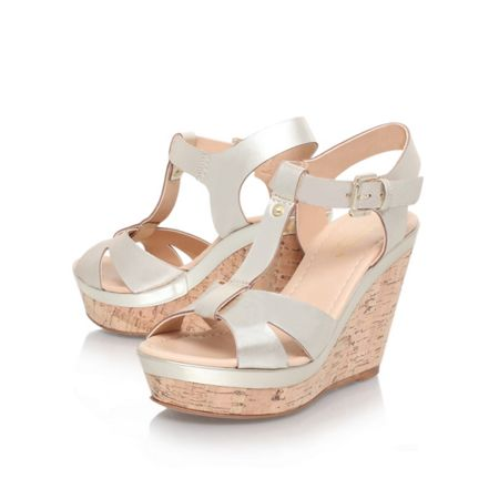 Carvela Kabby high heel wedge sandals