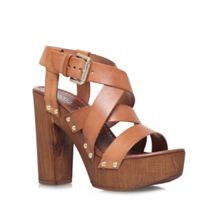 Carvela Kookie high block heel platform sandals