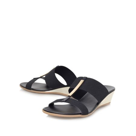 Carvela Comfort Suri low wedge heel sandals