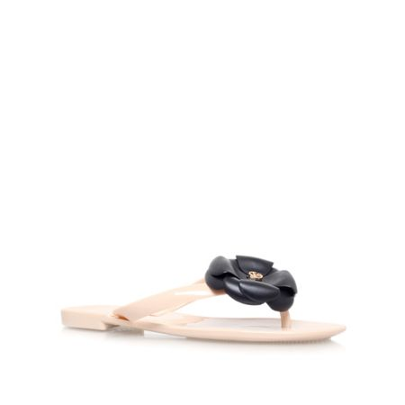 KG Marbs flat slip on embellished sandals