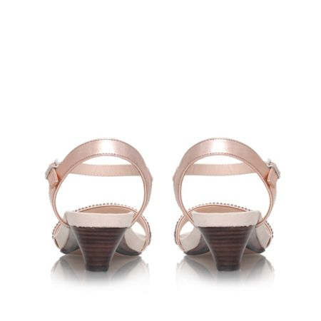 Carvela Sapphire combination low heel sandals