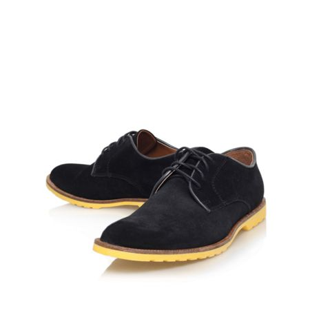 KG Ravenshead Black lace up shoe