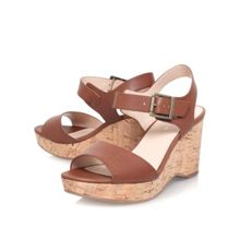Sophie high wedge heel sandals