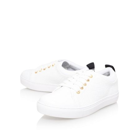 KG Lava flat lace up lo top trainers
